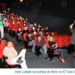 Amir Labaki na estreia do filme no É Tudo Verdade