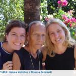 Dainara Toffoli, Helena Meirelles e Monica Schmiedt