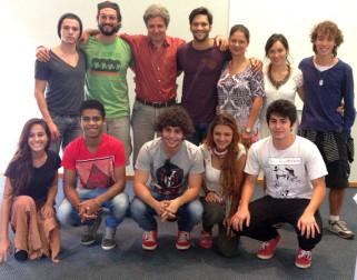 time de atores